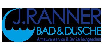 J. Ranner Bad und Dusche Logo