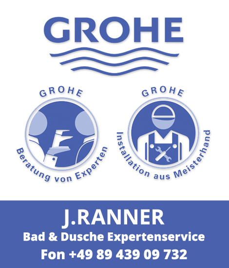 J. Ranner Bad und Duschen Experten von GROHE in München